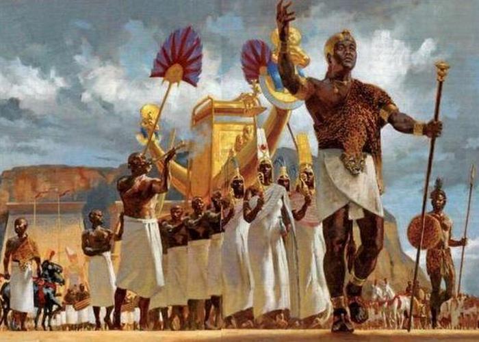 Меджаи были элитными телохранителями фараонов.